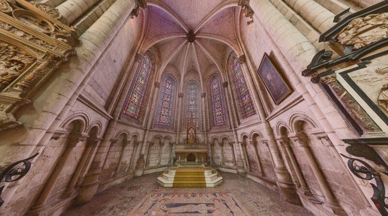 De Notre-Dame kathedraal van Sint-Omaars (Saint-Omer, Frankrijk)