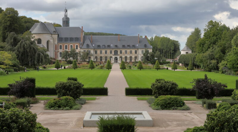 De tuinen van Valloires (Argoules, Frankrijk)
