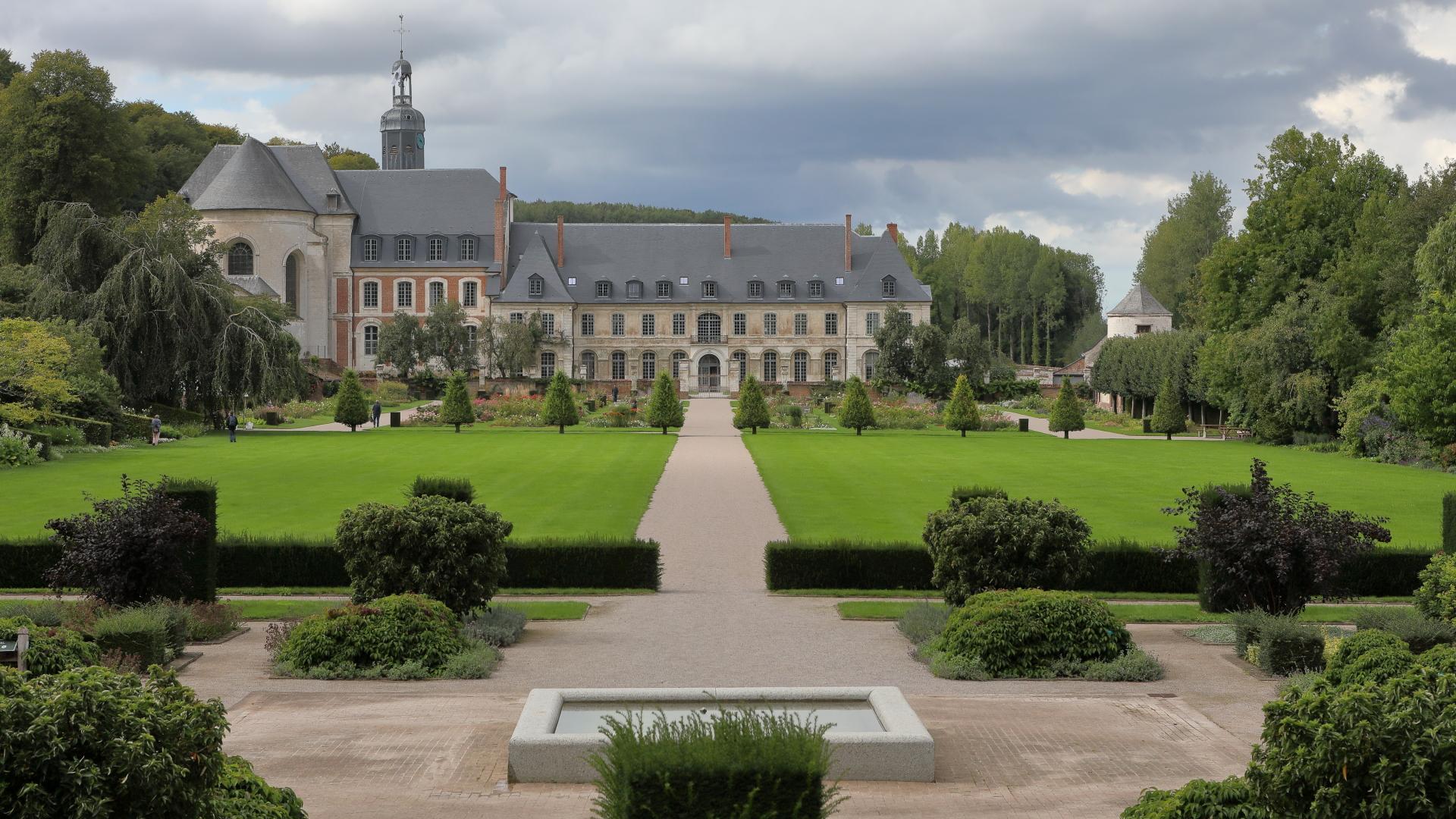 Die Garten Von Valloires Argoules Frankreich Seitenanfang Flandern