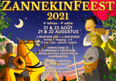 Zannekinfeesten, beleef de middeleeuwen (Rexpoëxe, Frankrijk)